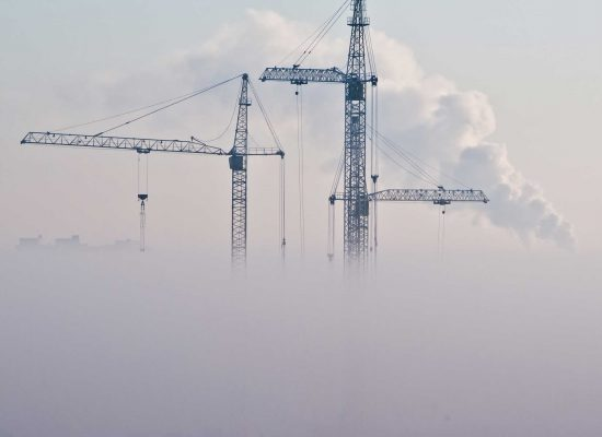 ERP ohjaa yritysten tuotantoprosesseja_rakennustyömaa