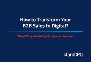 B2B Sales to Dgital